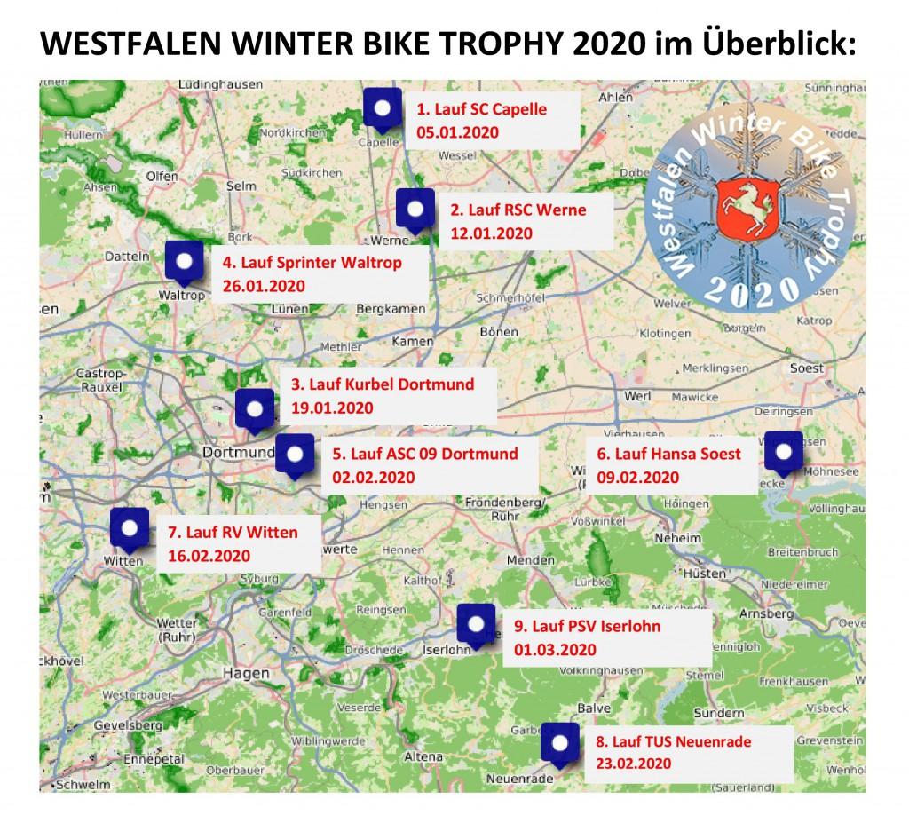 WESTFALEN WINTER BIKE TROPHY 2020 im Überblick